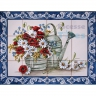 ASK 1563 Watering Pot Plants Flowers Tiles Panel