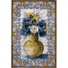 ASK 1571 Traditional Flowers Bouquet Tiles