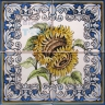 ASK 1578 Traditional Flowers Bouquet Tiles