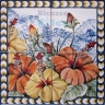 ASK 1579 Traditional Flowers Bouquet Tiles