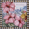 ASK 1580 Traditional Flowers Bouquet Tiles
