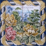 ASK 1581 Traditional Flowers Bouquet Tiles