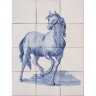ASK 1648 Horse Animals Tiles Mural