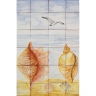ASK 1650 Sea Animals Tiles Mural