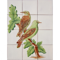 ASK 1651 Birds Animals Tiles Mural