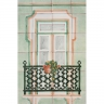 ASK 1655 Traditional Window Tiles Mural