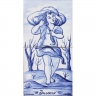 ASK 1657 Inverno Winter Season tiles panel
