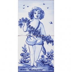 ASK 1658 Primavera Spring Season tiles panel