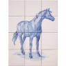ASK 1665 Horse Animal Tiles Mural