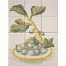 ASK 1674 fruits plate tiles panel