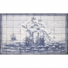ASK 1678 Sea Caravel Tiles Mural