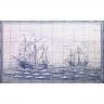 ASK 1679 Sea Caravel Tiles Mural