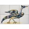 ASK 1685 Garden bird tiles panel