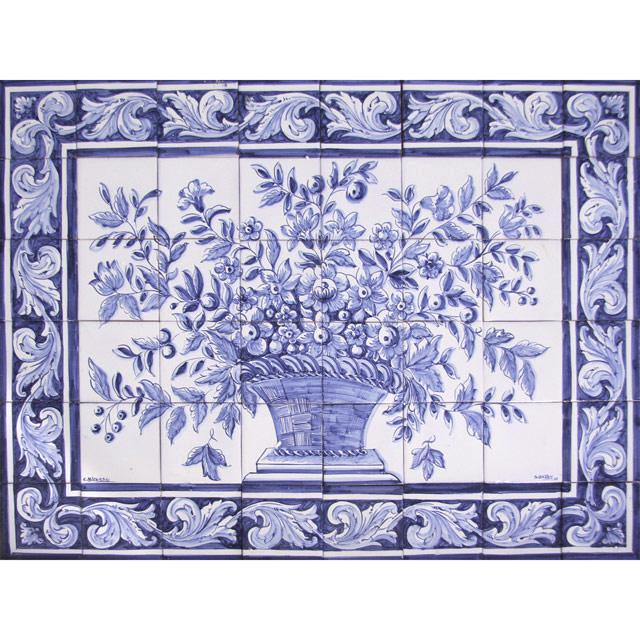 Hand Painted Decorative Ceramic Picture Tiles