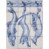 ASK 1687 Portuguese traditional tiles panel