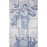 ASK 1833 Portuguese Tiles Mural Religious