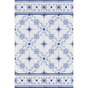 2115 Portuguese Bicesse Tiles from Portugal - Traditional decorative hand painted ceramic azulejo