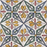 ASK 2175 Moroccan Traditional Painted Tiles