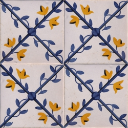 ASK 2177 Portuguese traditional painted tiles