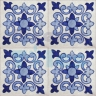 ASK 2195 Spanish traditional painted tiles