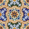ASK 2196 Spanish traditional painted tiles