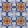 ASK 2197 Spanish traditional painted tiles