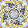 ASK 2198 Spanish traditional painted tiles