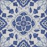 2305 Portuguese handmade majolica tile