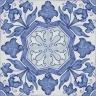 2307 Portuguese handmade majolica tile