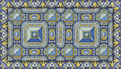 Spain Seville Diamond Point Traditional Tiles
