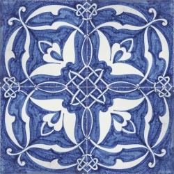2418 portuguese handmade majolica tile - Decorative Ceramic Tile