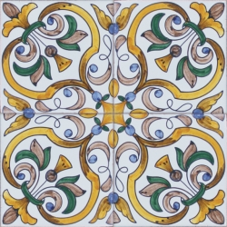 2419 Portuguese Spanish Wall Floor Ceramic Tile Azulejo
