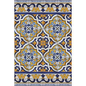 2511 Portuguese Spanish Tiles Azulejo Wall Decorative