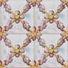 2543 Portuguese handmade majolica tile