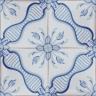 2545 Portuguese handmade majolica tile