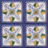 ASK 2546 Italian hand painted maiolica tiles