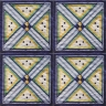 ASK 2547 Italian hand painted maiolica tiles