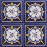 ASK 2548 Italian hand painted maiolica tiles