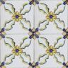 2601 Portuguese handmade majolica tile