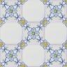 2602 Portuguese handmade majolica tile