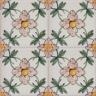 2608 Portuguese handmade majolica tile