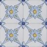 2610 Portuguese handmade majolica tile