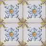 2618 Portuguese handmade majolica tile
