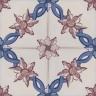 2620 Portuguese handmade majolica tile