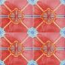 2810 Portuguese handmade majolica tile