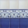 ASK 2841 Portuguese handmade majolica tile