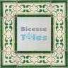ASK 3285 Portuguese handmade border tile