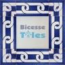 ASK 3292 Portuguese handmade border tile