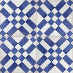 3410 Portuguese handmade majolica tile