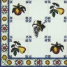 TMP 3903 Portuguese handmade majolica tile